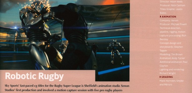 Super League Titles featured in Televisual 11th March 2011